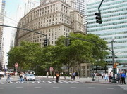 new york. bowling green. broadway. equitable building