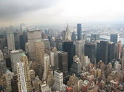 new york. empire state building. observatory